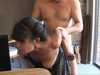 I Revved My Lil' Mexican Granny Maid Into an Anal Slave